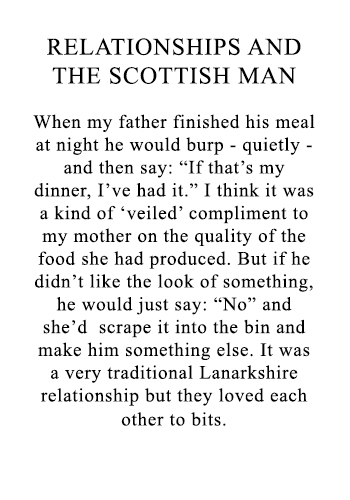 Scottish man relationships